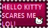 Hello Kitty scares me by KawaiiSteffu