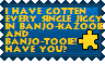 Banjo-Kazooie Jiggy stamp by KawaiiSteffu