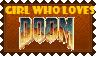 Girls love Doom too!! by KawaiiSteffu