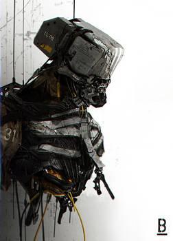 Robot-Wreck / Benoit Godde Concept Artist