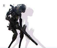 Robot-MM41 / Benoit Godde Concept Artist
