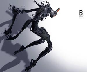 Robot-MM42 / Benoit Godde Concept Artist