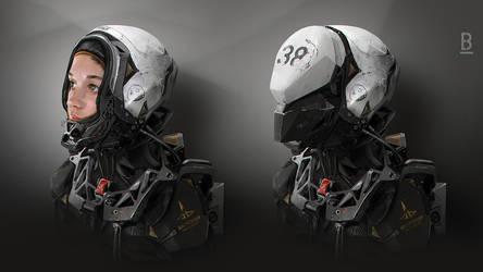 MM45 /  Benoit Godde Concept Artist by Benoit-Godde