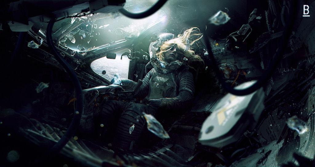 Weyland yutani s shuttle Benoit Godde Concept Art by Benoit-Godde