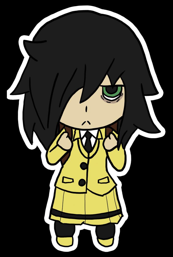 Tomoko by ATrickyCarnie