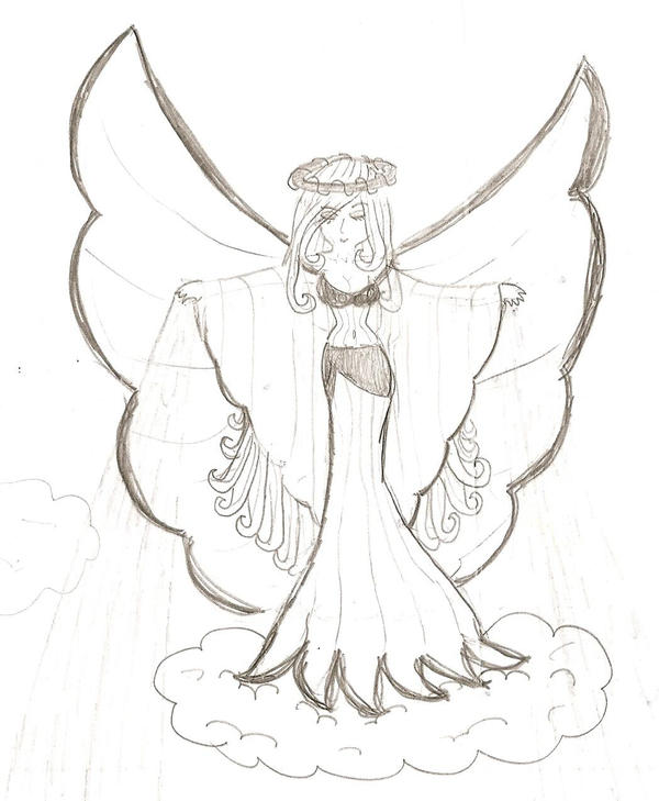 Drawing Pencil Sketches Of Angel on Pencil Sketches Of Angels