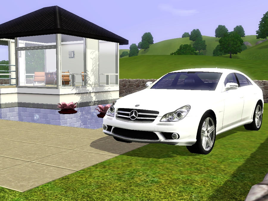 Mercedes benz sims 3 by fadhilyudho on deviantart for Mercedes benz b3 service