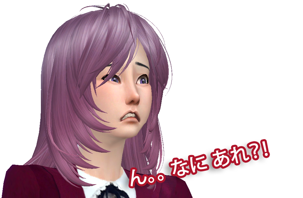 Sims 4 Anime Characters Mod : Sims school girl anime by fadhilyudho on deviantart