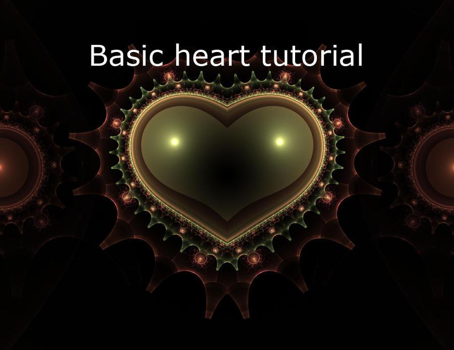 Basic Heart Tutorial by mfcreative