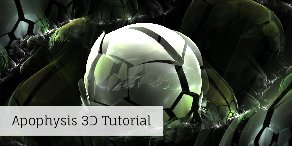Apophysis 3D Effect Tutorial by mfcreative