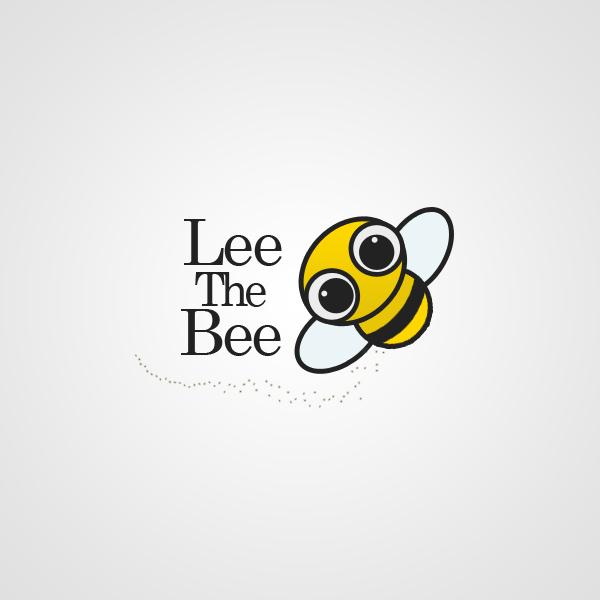 Cute Bee Logo Lee The Bee Logo by Mfcreative