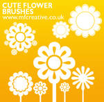 Cute Flower Brushes