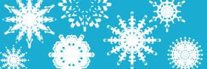 Snowflake Photoshop Brushes
