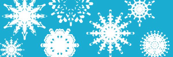 Snowflake Photoshop Brushes by mfcreative
