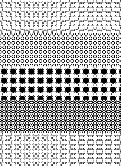 Circle Photoshop patterns by mfcreative