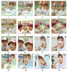 Super Junior set 1 by KimHanJin