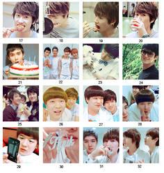 Super Junior set 2 by KimHanJin