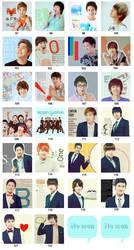 Super Junior set 7 by KimHanJin