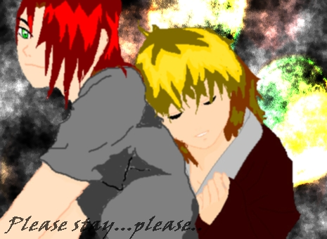 My OC's James and Kiy by Hatori1Lao