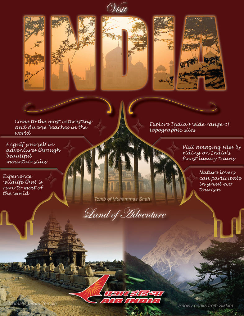India Travel Ad By Sonofculbert31