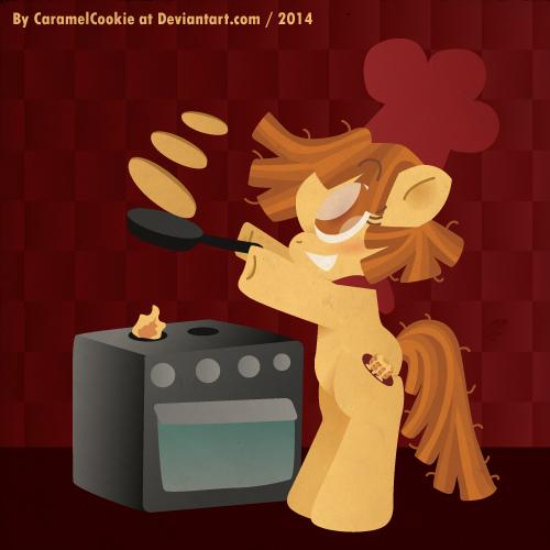 Pancaking by CaramelCookie