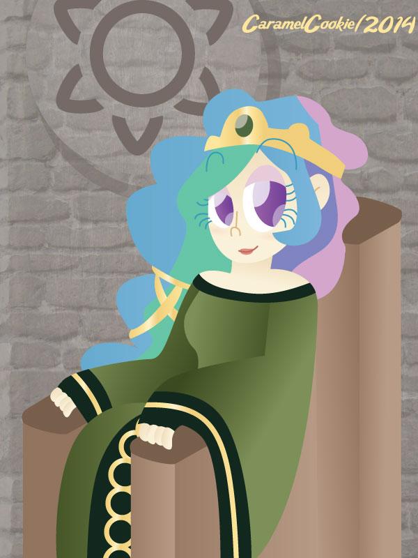 My Little Disney Queen - Celinor by CaramelCookie