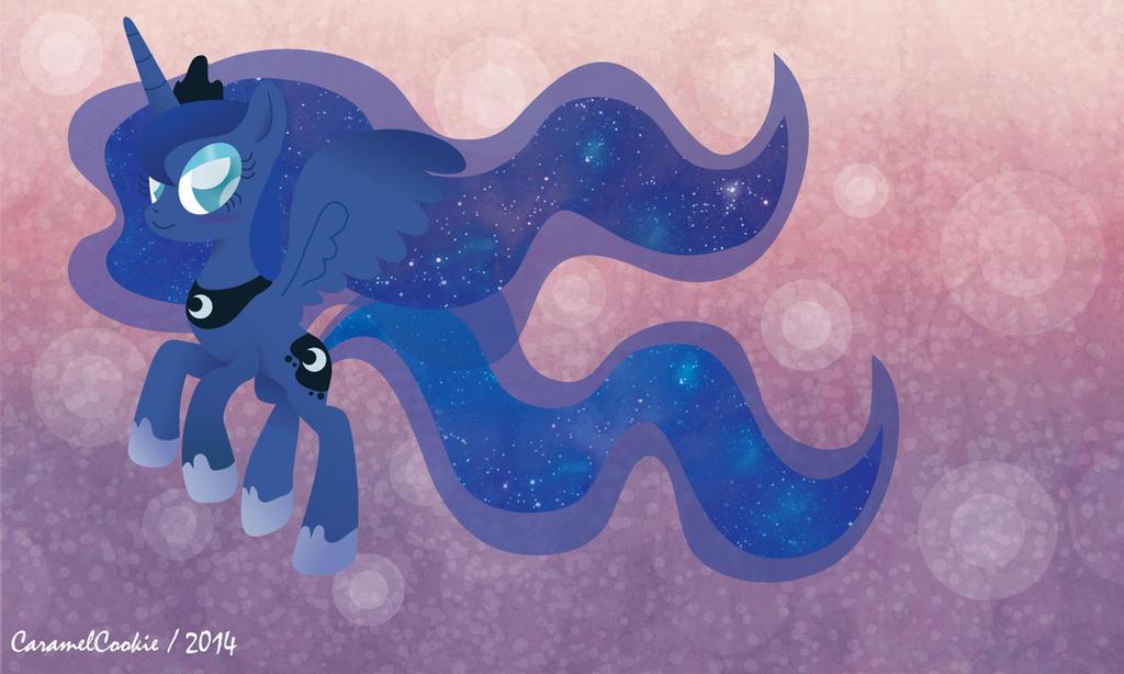 Princess Luna by CaramelCookie