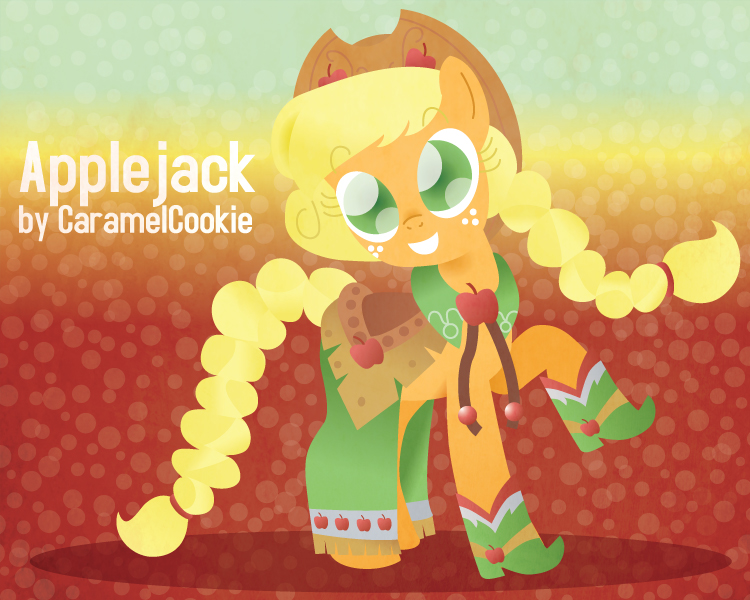 Gala Apple by CaramelCookie