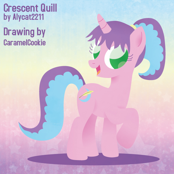 Crescent Quill by CaramelCookie