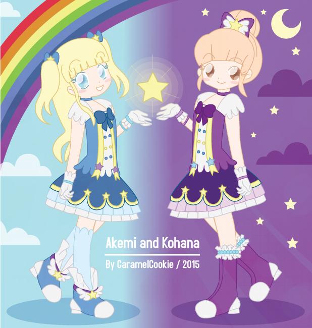 Akemi and Kohana by CaramelCookie