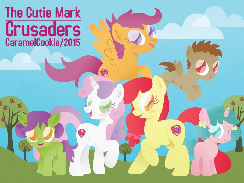 (SPOILER) The Cutie Mark Crusaders by CaramelCookie