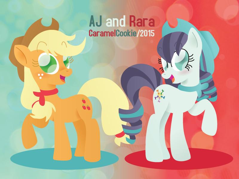 AJ and Rara by CaramelCookie
