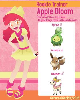 My Little Rookie Pokemon Trainer - Apple Bloom