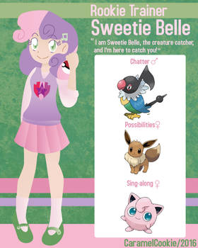 My Little Rookie Pokemon Trainer - Sweetie Belle