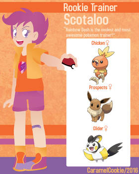 My Little Rookie Pokemon Trainer - Scotaloo