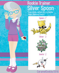 My Little Rookie Pokemon Trainer - Silver Spoon