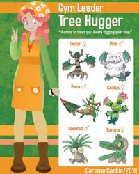 My Little Gym Leader - Tree Hugger by CaramelCookie