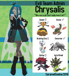My Little Evil Team Admin - Chrysalis