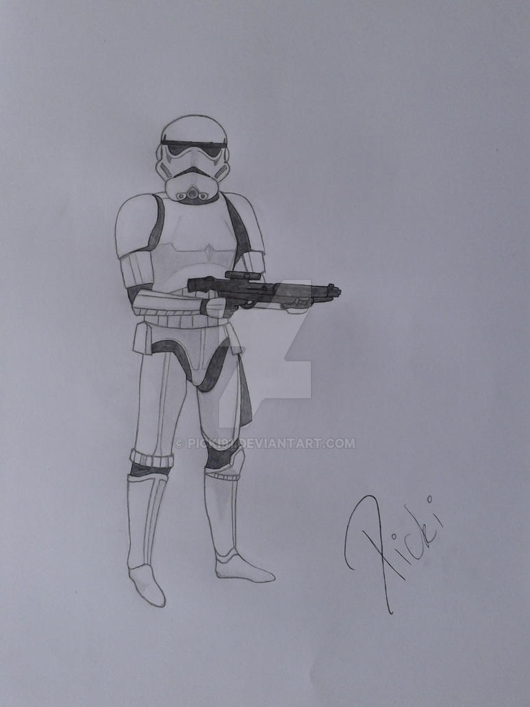 Imperial Stormtrooper by Picki91