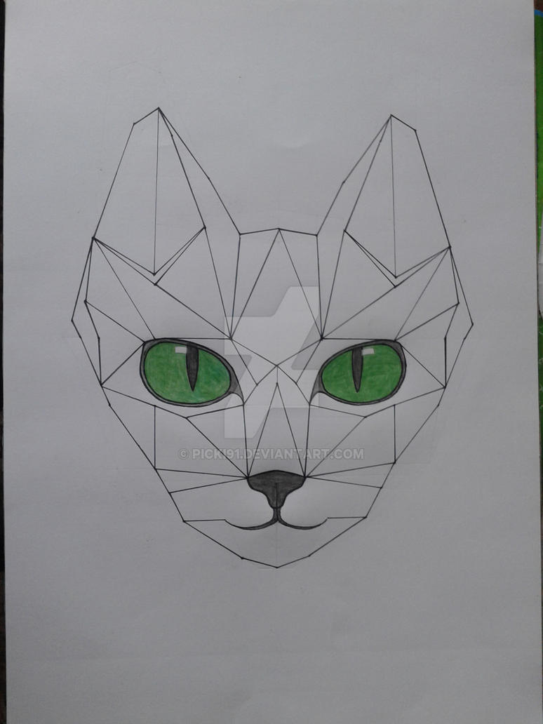 Cat - geometric version by Picki91