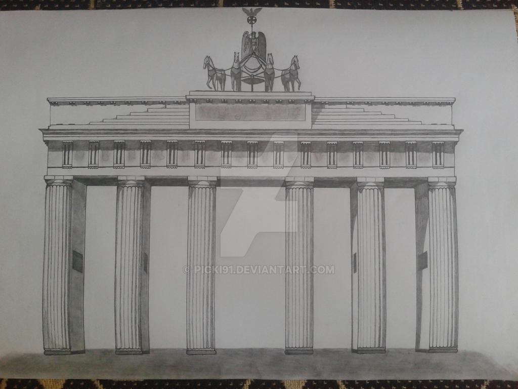 Brandenburg Gate by Picki91
