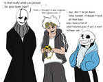 Gaster is not impressed