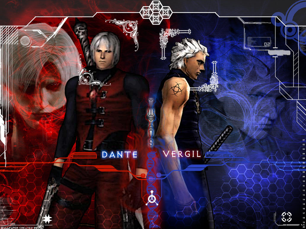 Twins Dante-Vergil By Rely On DeviantArt