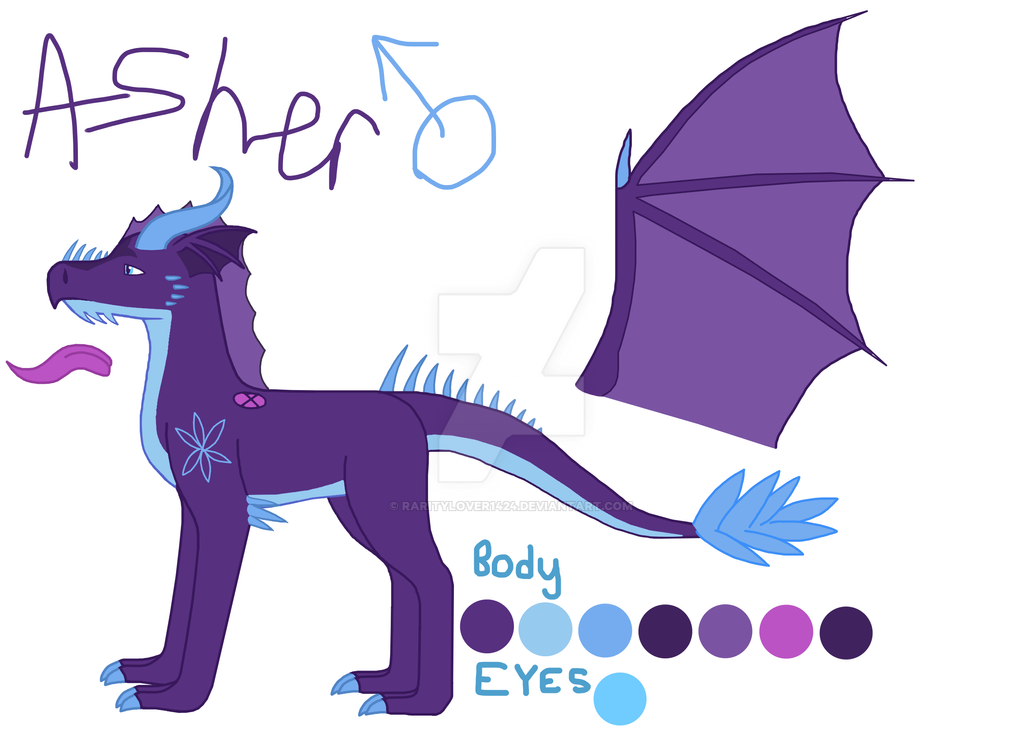 Asher by RarityLover1424