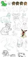 Sketch dump 1 (kinda large file!)
