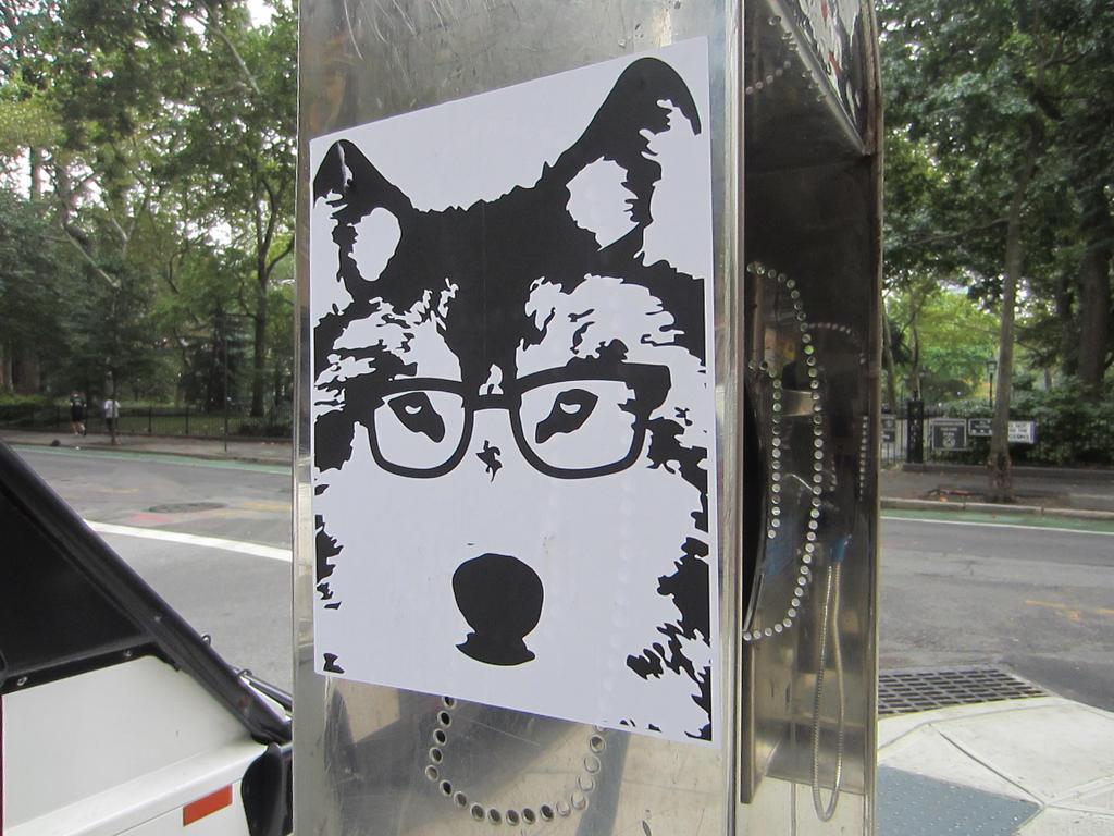 Hipster city wolf 2 cool fur u
