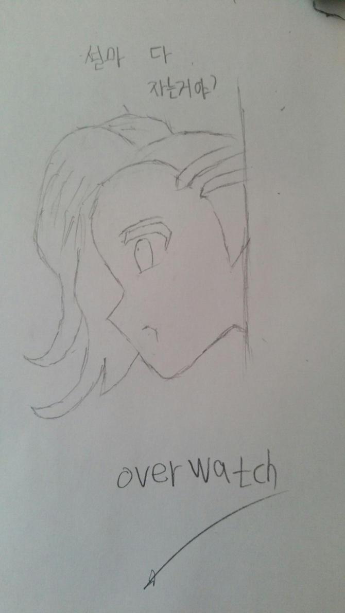 Overwatch SOMBRA by jun7649