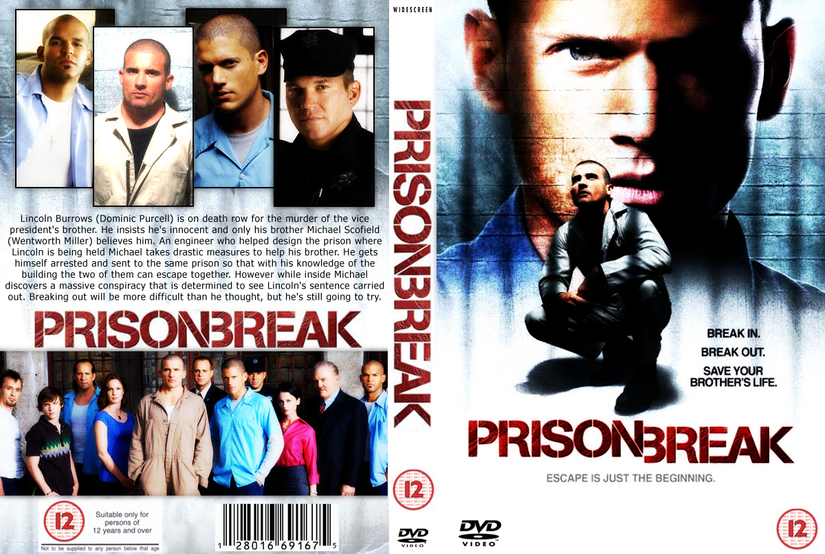 Prison Break Dvd Cover By Fresh Will On Deviantart