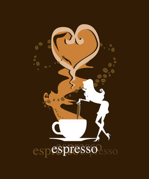 Espresso Coffee Girl