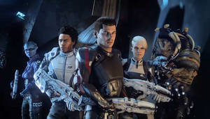 Meet the Crew -- Mass Effect: Andromeda